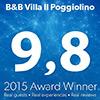B&B Villa Il Poggiolino Bookong.com Award